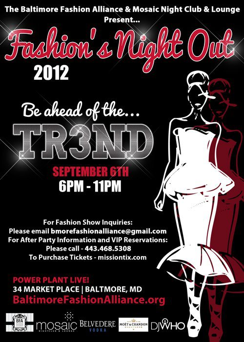 Tonight's The Night - Baltimore's Fashion's Night Out